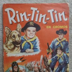 Coleccionismo Álbum: ALBUM CROMOS COMPLETO RIN-TIN-TIN - EDITORIAL FHER - BILBAO AÑO 1962. Lote 173733948