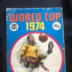 Coleccionismo Álbum: PANINI MÓNACO WORLD CUP 74. RARO. Lote 173770764