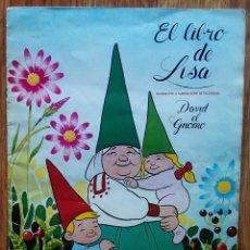 Coleccionismo Álbum: EL LIBRO DE LISA. DAVID EL GNOMO. ALBUM COMPLETO. DANONE, 1985. Lote 173853205
