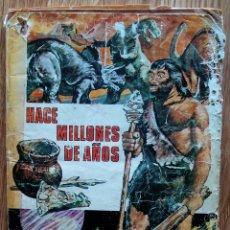 Coleccionismo Álbum: HACE MILLONES DE AÑOS. ÁLBUM COMPLETO. EDITORIAL RUIZ ROMERO, 1971. Lote 173864789