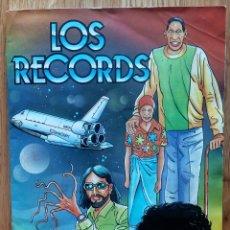 Coleccionismo Álbum: LOS RECORDS. ÁLBUM COMPLETO. CROMOS ROS, 1989. Lote 173866550