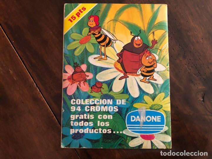 Coleccionismo Álbum: Las aventuras de la abeja Maya. Album de cromos . Completo Danone 1977 - Foto 2 - 173875678