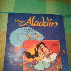 Coleccionismo Álbum: ÀLBUM CROMOS ALADDÍN COMPLETO. Lote 173902592