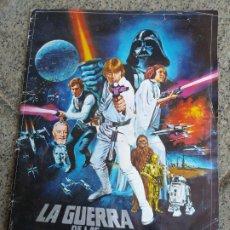 Coleccionismo Álbum: ALBUM COMPLETO LA GUERRA DE LAS GALAXIAS 1977. Lote 173910729