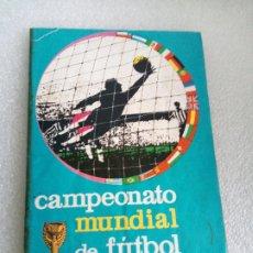 Coleccionismo Álbum: ALBUM DE CROMOS FUTBOL DISGRA FHER MUNDIAL 1966 INGLATERRA COMPLETO. Lote 174065139