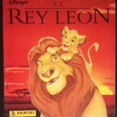 Coleccionismo Álbum: ALBUM EL REY LEON, PANINI - COMPLETO (FALTA EL POSTER CENTRAL). Lote 26968778