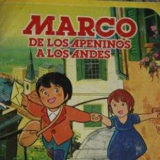 Coleccionismo Álbum: ÁLBUM DANONE. MARCO DE LOS APENINOS A LOS ANDES.. Lote 174309624