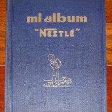 Coleccionismo Álbum: ALBUM 1932 NESTLE MI ALBUM TOMO AZUL. COMPLETO. ANIMALES, PLANTAS, EL HOMBRE. Lote 55095216