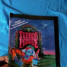 Coleccionismo Álbum: TERROR PARADE ALBUM COMPLETO GRUZEL MONSTERS PANDILLA BASURA VENDING MACHINE. Lote 174330402