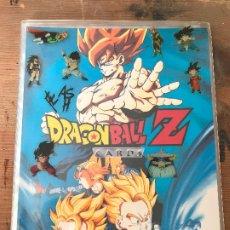 Coleccionismo Álbum: ALBUM DRAGON BALL Z CARDS COMPLETO - 120 CARTAS PERFECTAS - SERIE AZUL. Lote 174530177