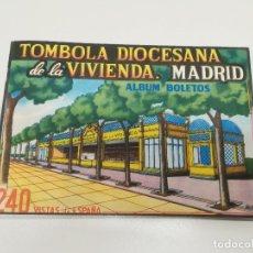 Coleccionismo Álbum: 240 VISTAS DE ESPAÑA. ALBUM TOMBOLA DIOCESANA DE LA VIVIENDA. MADRID.. Lote 174575669