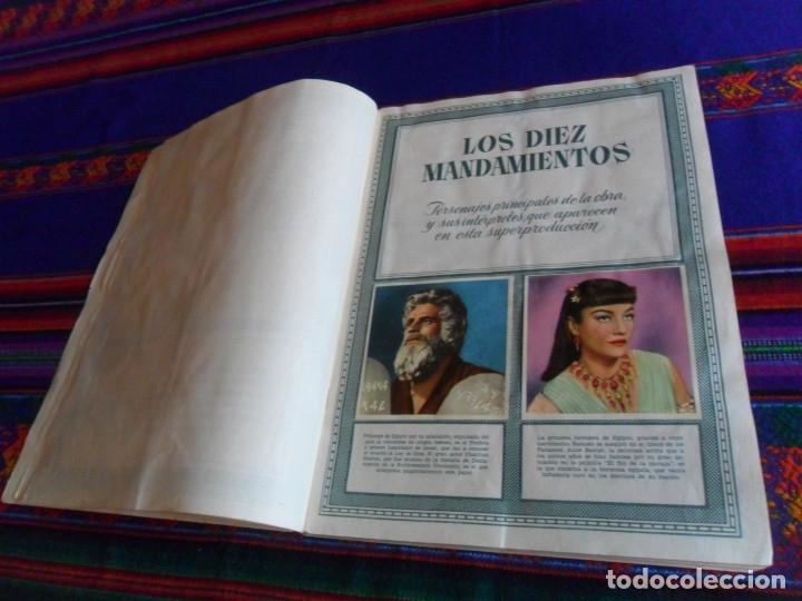 Coleccionismo Álbum: BUEN PRECIO, LOS DIEZ MANDAMIENTOS COMPLETO 210 CROMOS. BRUGUERA 1959. - Foto 2 - 174595238