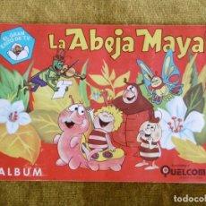 Coleccionismo Álbum: ÁLBUM CROMOS LA ABEJA MAYA, COMPLETO.. Lote 175042198