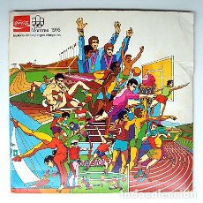 Coleccionismo Álbum: ALBUM 1976 HISTORIA DE LOS JUEGOS OLIMPICOS. MONTREAL 76 COCA COLA. DEPORTES. COMPLETO. Lote 96743767