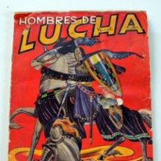 Coleccionismo Álbum: HOMBRES DE LUCHA - ÁLBUM COMPLETO, EDITORIAL RUIZ ROMERO (BARCELONA, 1956). Lote 175227329