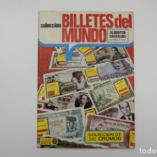 Coleccionismo Álbum: ÁLBUM ESTE COMPLETO - BILLETES DEL MUNDO - 1974 - VER FOTOS. Lote 175290482