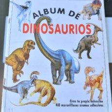 Coleccionismo Álbum: ÁLBUM CROMOS DINOSAURIOS STAEDLER. Lote 175556419