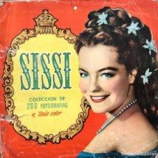 Coleccionismo Álbum: SISSI. ALBUM COMPLETO. 200 CROMOS. EDITORIAL BRUGUERA 1957 ROMY SCHNEIDER. Lote 175630209
