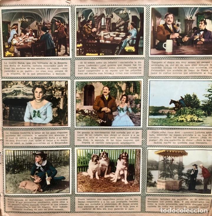 Coleccionismo Álbum: Sissi. album completo. 200 cromos. Editorial Bruguera 1957 Romy Schneider - Foto 2 - 175630209