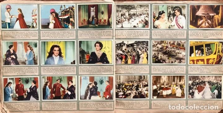 Coleccionismo Álbum: Sissi. album completo. 200 cromos. Editorial Bruguera 1957 Romy Schneider - Foto 5 - 175630209