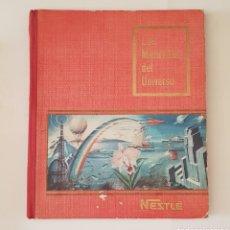 Coleccionismo Álbum: ÁLBUM NESTLÉ COMPLETO LAS MARAVILLAS DE UNIVERSO - COMPLETO - TDKC38. Lote 175673362