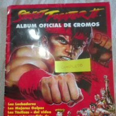 Coleccionismo Álbum: STREET FIGHTER 2 ÁLBUM COMPLETO MERLIN COLECCIÓN. Lote 175763660