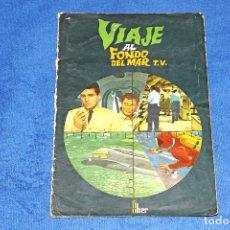 Coleccionismo Álbum: VIAJE AL FONDO DEL MAR (EDITORIAL FHER) - COLECCIÓN COMPLETA Y EN BUEN ESTADO. Lote 68278905