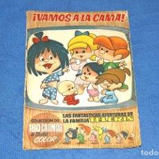 Coleccionismo Álbum: VAMOS A LA CAMA - AVENTURAS DE LA FAMILIA TELERIN (ED. BRUGUERA) - COLECCIÓN COMPLETA. Lote 68279101