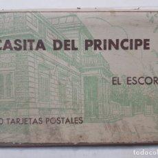 Coleccionismo Álbum: ALBUM 20 POSTALES-CASITA DEL PRÍNCIPE-EL ESCORIAL . Lote 175880037