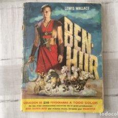 Coleccionismo Álbum: BEN-HUR BRUGUERA 1960 - COMPLETO. Lote 175910193