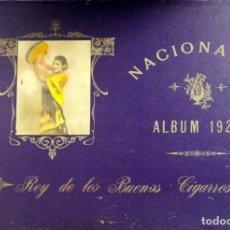 Coleccionismo Álbum: ALBUM COMPLETO. CIGARRILLOS NACIONALES, REY DE LOS BUENOS . HABANA, 1927. VER FOTOS. LEER.. Lote 176057748