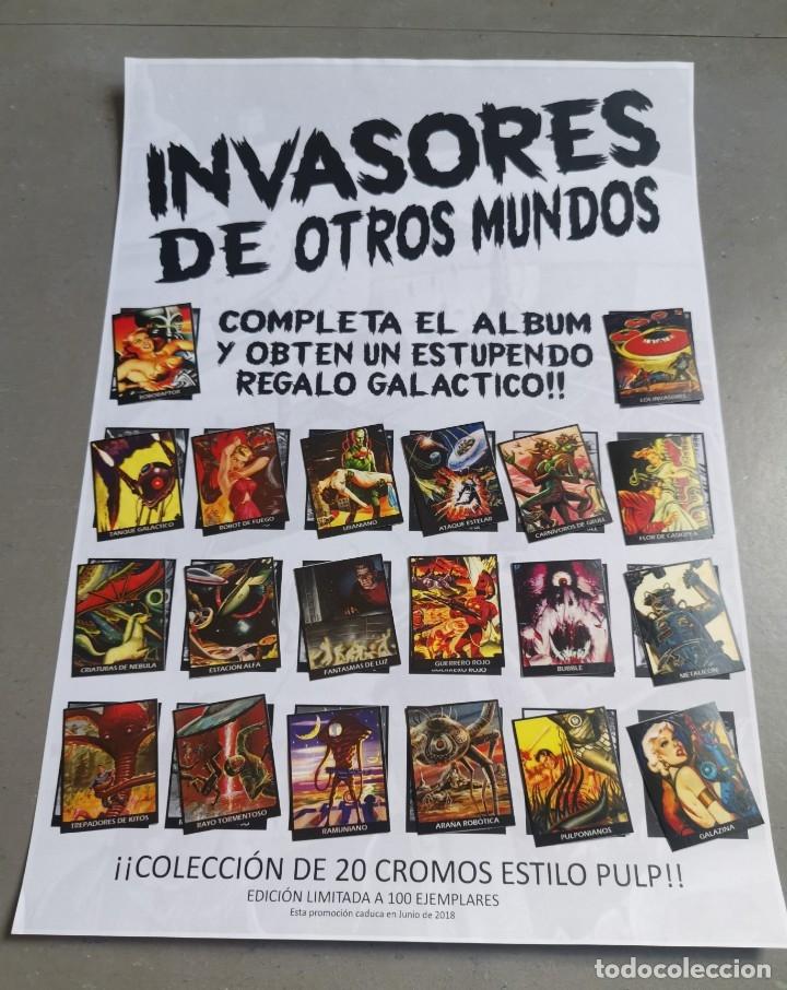 Coleccionismo Álbum: CROMOS COLECCIÓN COMPLETA MONSTERS MONSTRUOS INVASORES OTROS MUNDOS INVASORS FROM ANOTHER WORLDS - Foto 10 - 176091689