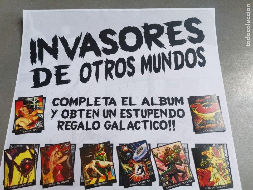 Coleccionismo Álbum: CROMOS COLECCIÓN COMPLETA MONSTERS MONSTRUOS INVASORES OTROS MUNDOS INVASORS FROM ANOTHER WORLDS - Foto 2 - 176091689