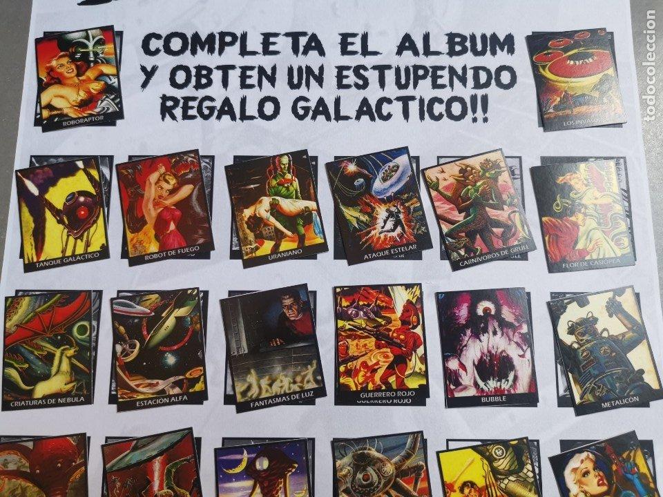 Coleccionismo Álbum: CROMOS COLECCIÓN COMPLETA MONSTERS MONSTRUOS INVASORES OTROS MUNDOS INVASORS FROM ANOTHER WORLDS - Foto 3 - 176091689