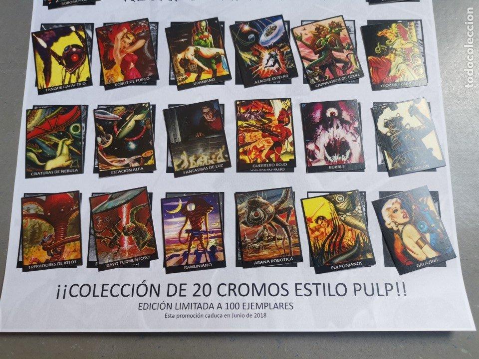 Coleccionismo Álbum: CROMOS COLECCIÓN COMPLETA MONSTERS MONSTRUOS INVASORES OTROS MUNDOS INVASORS FROM ANOTHER WORLDS - Foto 4 - 176091689