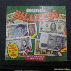 Coleccionismo Álbum: ALBUM MUNDI BILLETES COMPLETO. Lote 176106107