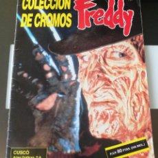 Coleccionismo Álbum: ÁLBUM CROMOS FREDDY KRUEGER - A NIGHTMARE ON ELM STREET ED. CUSCÓ. Lote 176144753