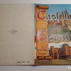 Coleccionismo Álbum: CASULLERAS - CASTILLOS DE ESPAÑA - ALBUM COMPLETO - 1957. Lote 176234569