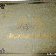 Coleccionismo Álbum: ALBUM GEOGRAFICO UNIVERSAL. CIGARROS SUSINI. COMPLETO. BUEN ESTADO. LA HABANA, 1936. LEER.. Lote 176250675