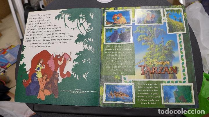 Coleccionismo Álbum: ALBUM TARZAN DE PANINI COMPLETO INCLUYE POSTER - Foto 2 - 176266289