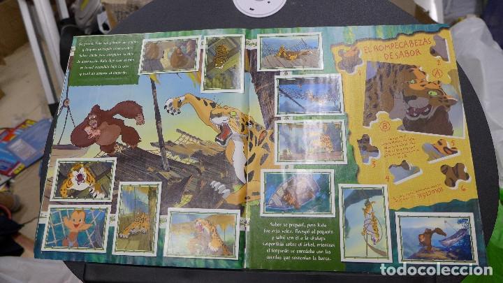 Coleccionismo Álbum: ALBUM TARZAN DE PANINI COMPLETO INCLUYE POSTER - Foto 4 - 176266289