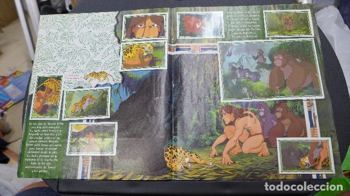 Coleccionismo Álbum: ALBUM TARZAN DE PANINI COMPLETO INCLUYE POSTER - Foto 10 - 176266289