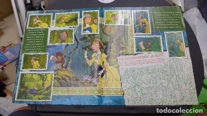 Coleccionismo Álbum: ALBUM TARZAN DE PANINI COMPLETO INCLUYE POSTER - Foto 12 - 176266289