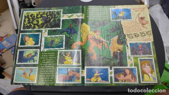 Coleccionismo Álbum: ALBUM TARZAN DE PANINI COMPLETO INCLUYE POSTER - Foto 13 - 176266289