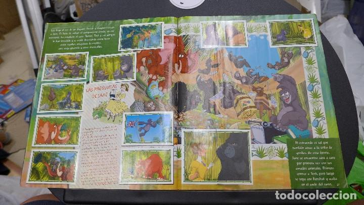 Coleccionismo Álbum: ALBUM TARZAN DE PANINI COMPLETO INCLUYE POSTER - Foto 15 - 176266289