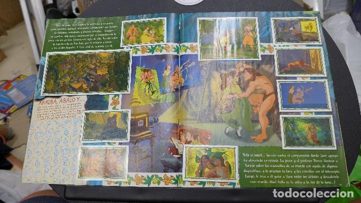 Coleccionismo Álbum: ALBUM TARZAN DE PANINI COMPLETO INCLUYE POSTER - Foto 16 - 176266289