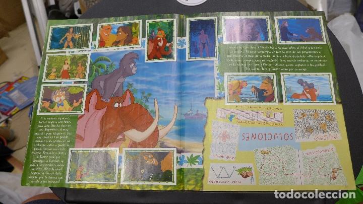 Coleccionismo Álbum: ALBUM TARZAN DE PANINI COMPLETO INCLUYE POSTER - Foto 17 - 176266289
