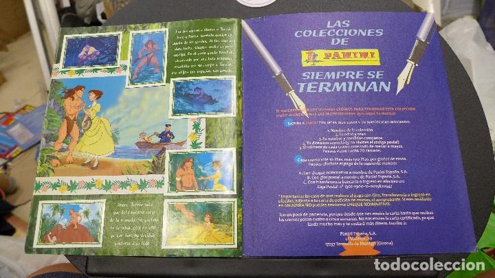 Coleccionismo Álbum: ALBUM TARZAN DE PANINI COMPLETO INCLUYE POSTER - Foto 18 - 176266289