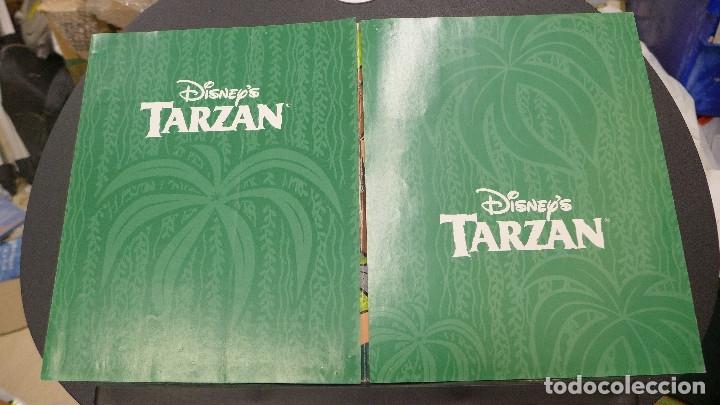 Coleccionismo Álbum: ALBUM TARZAN DE PANINI COMPLETO INCLUYE POSTER - Foto 20 - 176266289