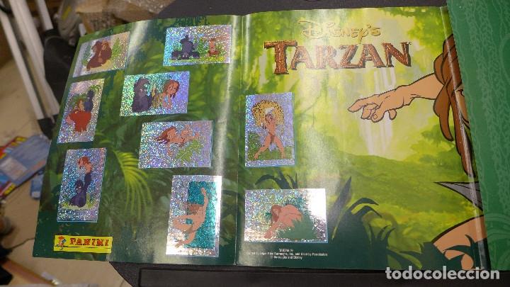 Coleccionismo Álbum: ALBUM TARZAN DE PANINI COMPLETO INCLUYE POSTER - Foto 21 - 176266289